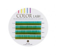 Color LASH B-GREEN, zelené řasy
